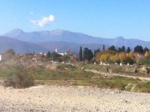 The border between Greece and the Former Yugoslav Republic of Macedonia